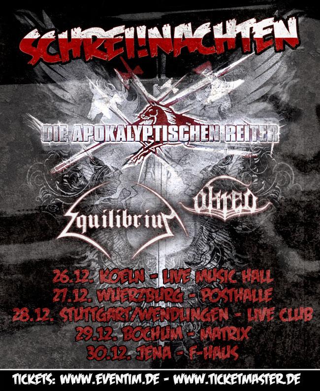 Schreinachten Tour Plakat
